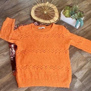 Jones Of NY Orange Sweater